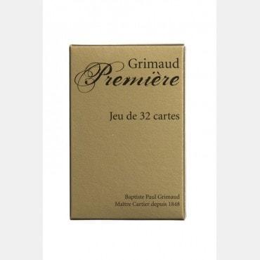 Belote Première Grimaud CAR6002 Cartes de belote