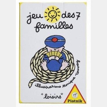 Jeu de cartes 7 familles CAR0936 La boutique
