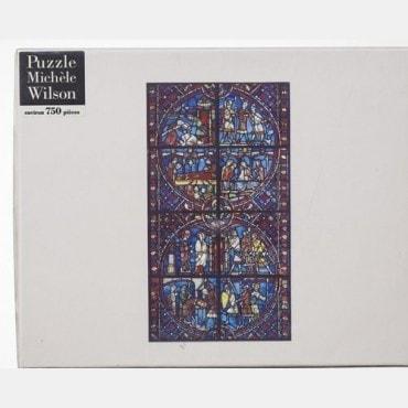 Puzzle Wilson 750 pièces -Scènes de vie Vitrail du XIIIème PUZ1111 Puzzles et casse-têtes