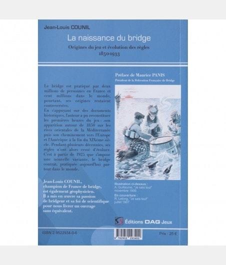 Naissance du Bridge LIV2093 Librairie