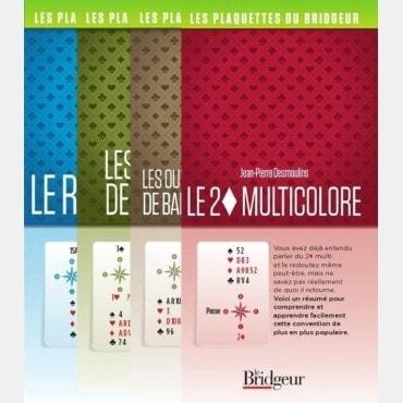 Pack 4 premières plaquettes de JP DESMOULINS PAC2050 Librairie