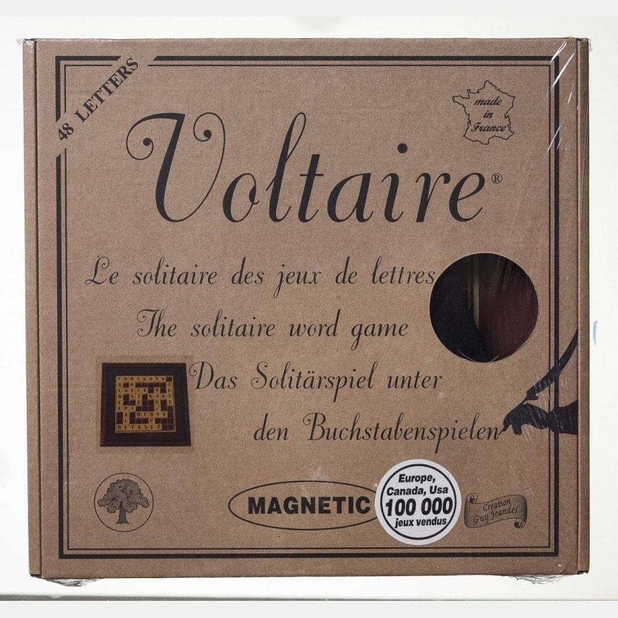 VOLTAIRE: solitaire des jeux de lettres JEU2505 Jeux