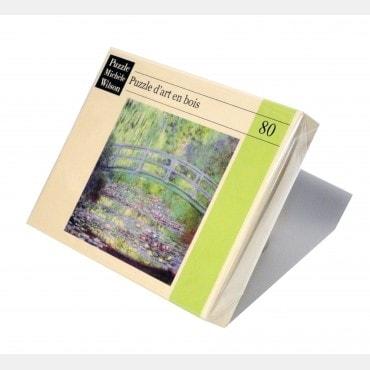 Puzzle Wilson 80 pièces - Le pont japonais de Claude Monet PUZ1149_a Puzzles et casse-têtes