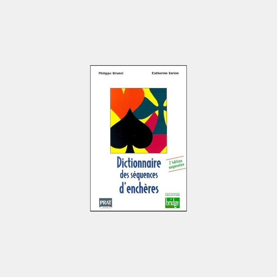Dictionnaire des séquences d'enchères. LIV2070 Librairie