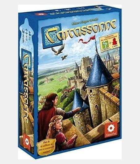 Carcassonne version 2015 JEU5580 Jeux
