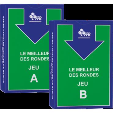 Les jeux fléchés Le Meilleur des Rondes ( les jeux fléchés seuls) CAR9400 Cartes fléchées FFB