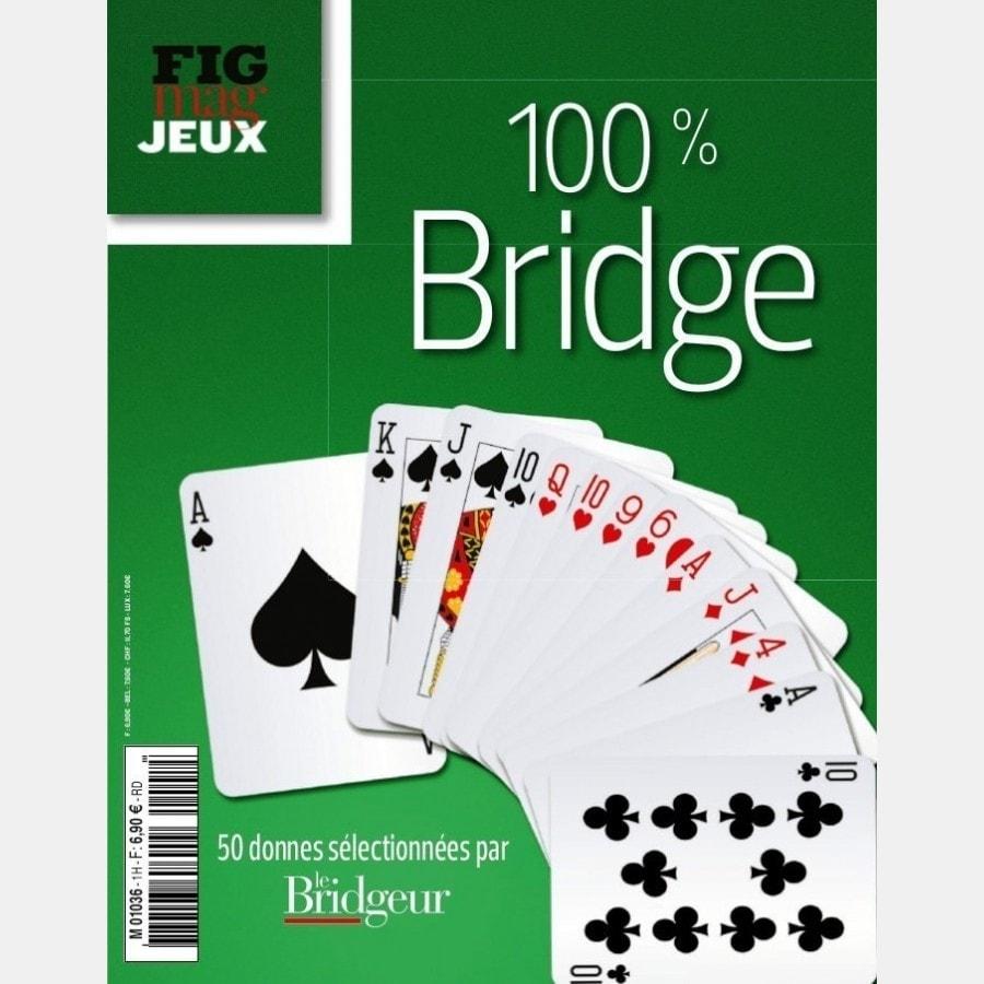 100% Bridge Le Figaro Magazine Jeux N°1 LIV2198 Librairie