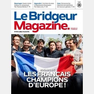 Le Bridgeur - Juillet 2016 bri_journal904 Anciens numéros