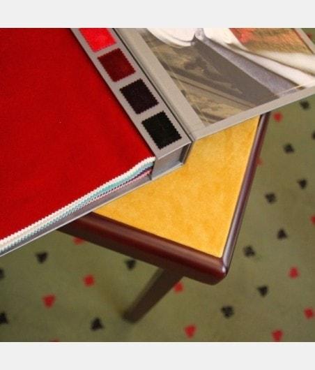 Table de bridge pliante coloris acajou tapis velours à personnaliser TAB9039 Tables et tablettes