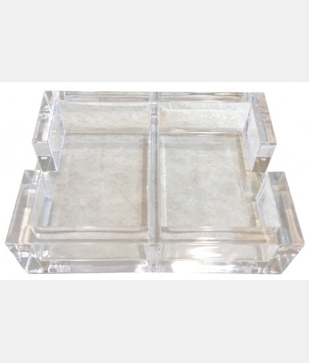 Coffret plexiglas transparent COF1010 Cartes