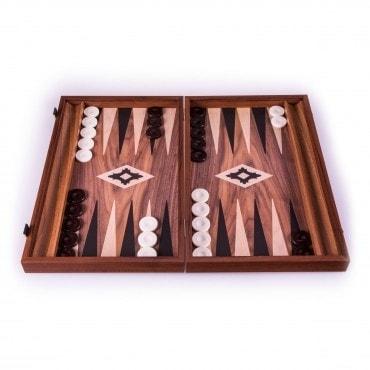 Backgammon Bois noyer grand modèle BAC3800 Jeux