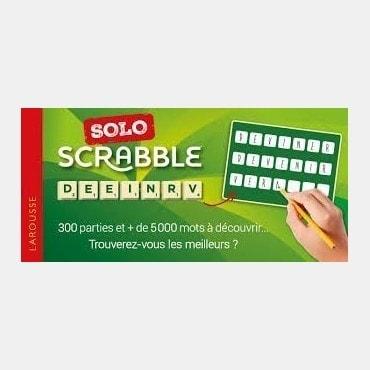SCRABBLE SOLO LIV4340 Livres de jeux