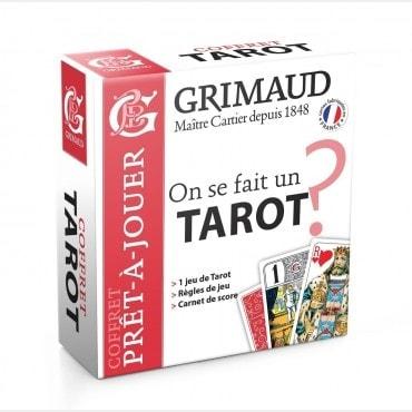 Coffret prêt-à-jouer Tarot CAR4014 Cartes de tarot