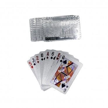 Jeux de cartes ARGENTEES CAR1087 Cartes à jouer