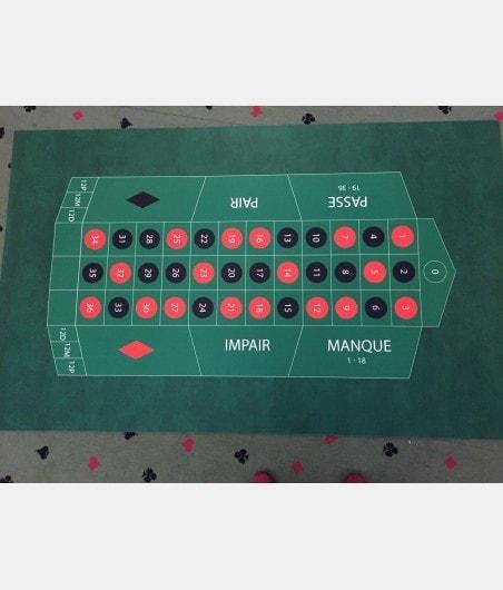 Tapis de roulette néoprène 130x80 cm TAP5500 Tout voir