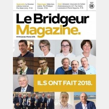 Le Bridgeur - Janvier 2019 BRI_journal919 Anciens numéros