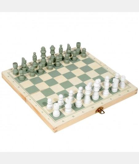 Coffret échiquier backgammon en bois ECH2550 Accueil