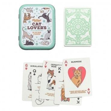 Cartes à jouer décor chats CAR7480 Cartes à jouer