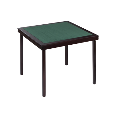 Table de bridge pliante large bords coloris acajou 80x80 cm TAB9040 Tables et tablettes