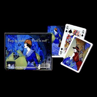 Coffret de cartes Paris la nuit CAR3500_D Cartes à jouer