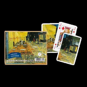 Coffret de cartes Van Gogh café le soir CAR3500_K Tout voir