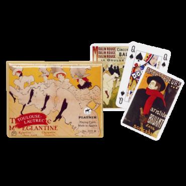 Coffret de cartes Toulouse Lautrec CAR3500_E Cartes à jouer