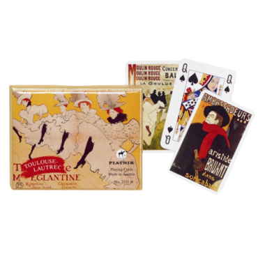 Toulouse Lautrec card set