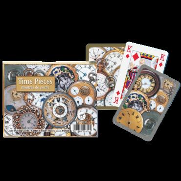 Coffret de cartes Time pieces CAR3500_G Cartes à jouer