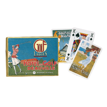 Box of Golfers cards