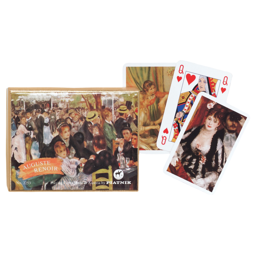 Coffret de 2 jeux de cartes Renoir CAR3500_L Cartes à jouer