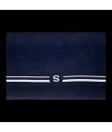 Tapis de bridge effet daim avec galon vert 77x77 cm TAP1030 La boutique