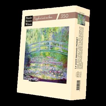 Puzzle Wilson 350 pièces - Le Pont Japonais de Claude Monet PUZ1162_B Puzzles et casse-têtes
