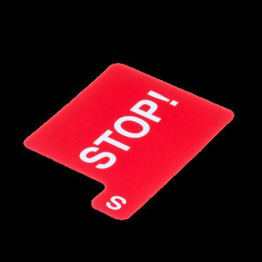 Carton d'enchère à l'unité en plastique BID204 Matériel de bridge