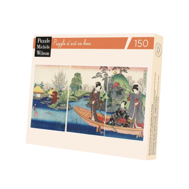 Puzzle Wilson 150 pièces - La Barque de Kunisada PUZ11608_A Puzzles et casse-têtes