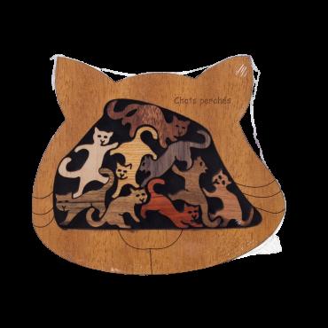 Decorative wooden puzzle:...