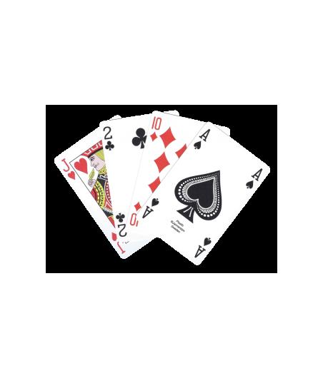 Carte 100% plastique club CAR0090 Cartes à jouer