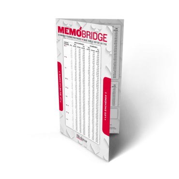 Mémobridge New edition 2019