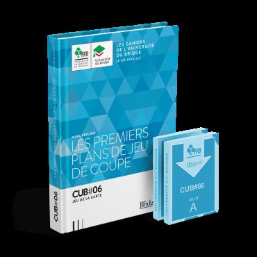 Pack CUB 6 : Les Premiers Plans de Jeu de Coupe - Livre et cartes LIV11331 Librairie