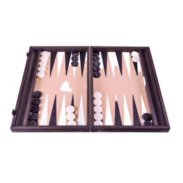 Backgammon grand modèle aspect liège BAC3830 Jeux