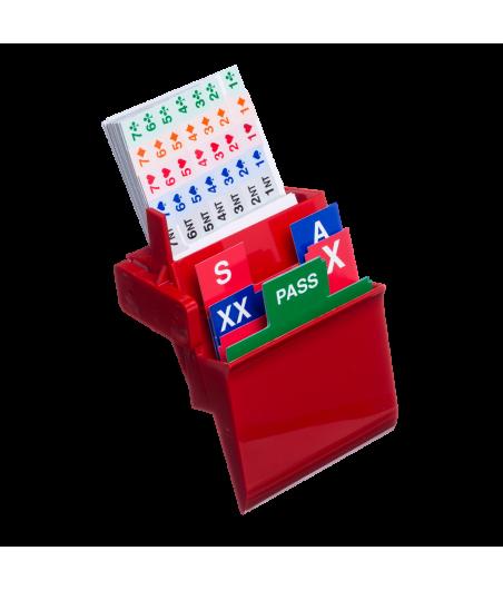 Boîtes à enchères à visser - vendues par lot de 4 BID2030 Boîtes à enchères et recharges