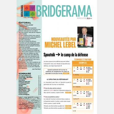 Bridgerama - Septembre 2017 rama_434 Anciens numéros
