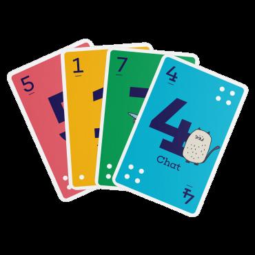 Jeu de cartes enfants Le Petit Bridge CAR1061 Cartes à jouer