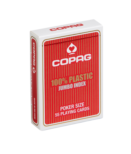 Jeu de cartes Poker Copag Index Jumbo CAR1091 La boutique