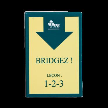 Lot de 5 jeux fléchés Bridgez ! FFB CAR9300 Cartes fléchées FFB