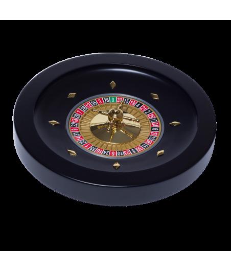 Jeu de roulette bois noir diamètre 36 cm CAS2000 Tout voir