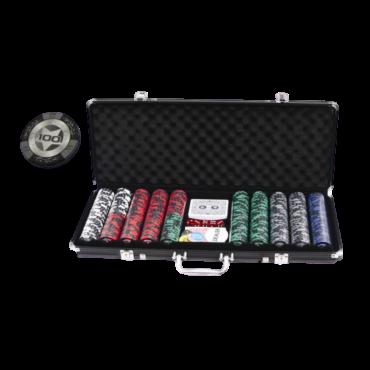 Mallette de poker 500 jetons JET2016 Poker