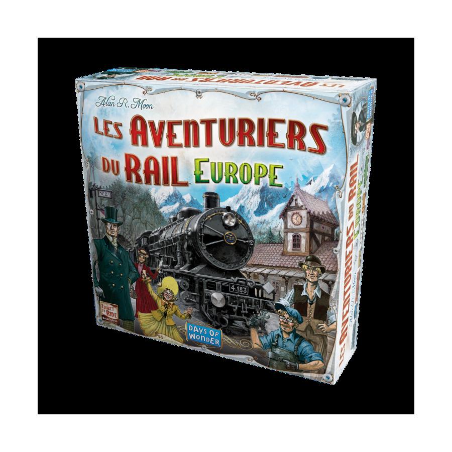 Les Aventuriers du Rail - Europe JEU5602 Jeux de société