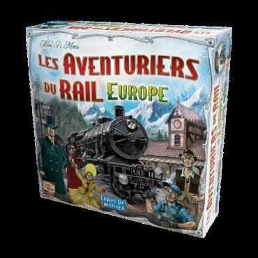 Les Aventuriers du Rail : Europe JEU5602 Jeux de société