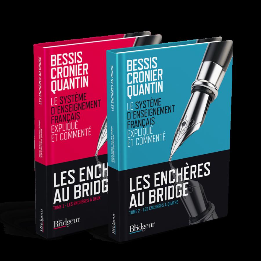 Pack Tome 1 et 2 collection Les Enchères au Bridge PAC2016 Librairie