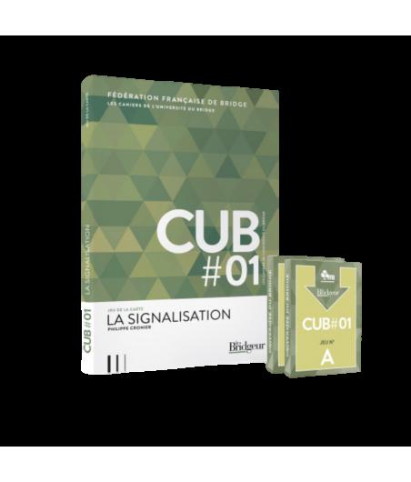 Pack CUB 1 : La signalisation - Livre et cartes LIV10493 Cartes fléchées FFB